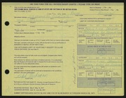 Entry card for Woehrman, Ralph for the 1971 May Show.