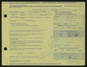 Entry card for Andres, Richard for the 1972 May Show.
