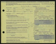 Entry card for Brown, Michael J. for the 1972 May Show.