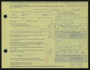 Entry card for Crawford, Garie W. for the 1972 May Show.