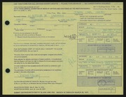 Entry card for Hruby, Joseph Carl for the 1972 May Show.