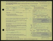 Entry card for Ingalls, Eileen B. for the 1972 May Show.