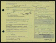 Entry card for Kagawa, Paul for the 1972 May Show.