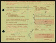 Entry card for Lepon, Gale R.  for the 1972 May Show.