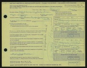 Entry card for Moore, Gregory Todd for the 1972 May Show.