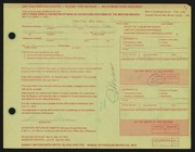 Entry card for Moss, Sherwin S. for the 1972 May Show.
