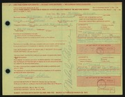 Entry card for Schrier, Michael for the 1972 May Show.