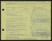 Entry card for Short, Ian C. for the 1972 May Show.
