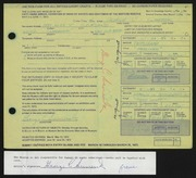 Entry card for Sumerak, George C. for the 1972 May Show.