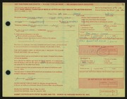 Entry card for Weiss, Jamie for the 1972 May Show.