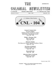 The Colonial Newsletter, no. 104