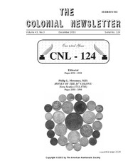 The Colonial Newsletter, no. 124