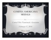 Comitia Americana Medals