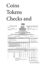 Coins, Tokens, Checks, and 1913