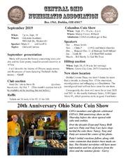 CONA Newsletter (September 2019)