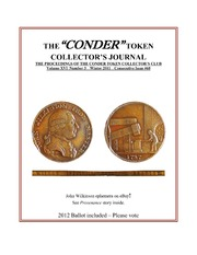 Conder Token Collector's Journal