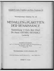 Versteigerungs-Katalog No. 42