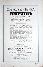 Catalogue For Hardie S Fibrolite Asbestos Cement Sheets