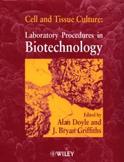 Cell And Tissue Culture Laboratory Procedures In