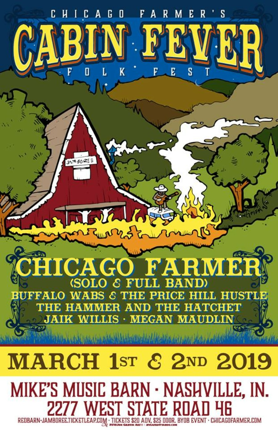 Chicago Farmer Live at Mike's Dance Barn on 2019-03-02