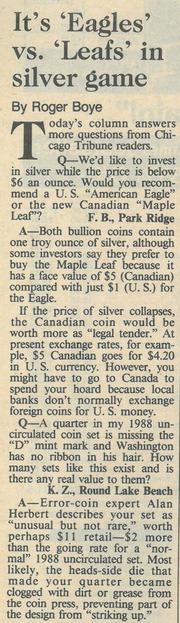 Chicago Tribune [1989-01-29]