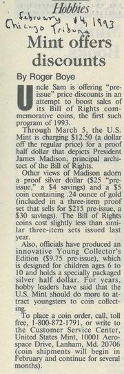 Chicago Tribune [1993-02-14]
