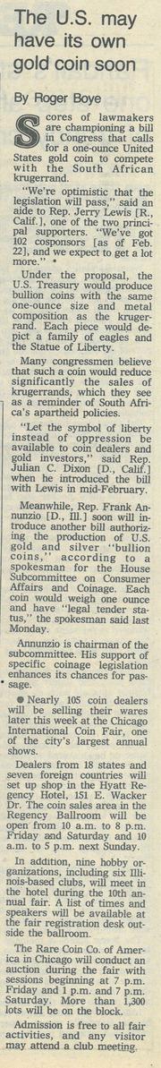Chicago Tribune [1985-03-10]