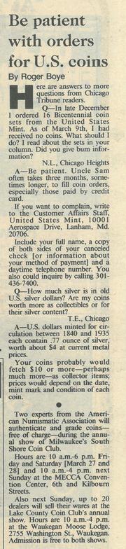Chicago Tribune [1987-03-22]
