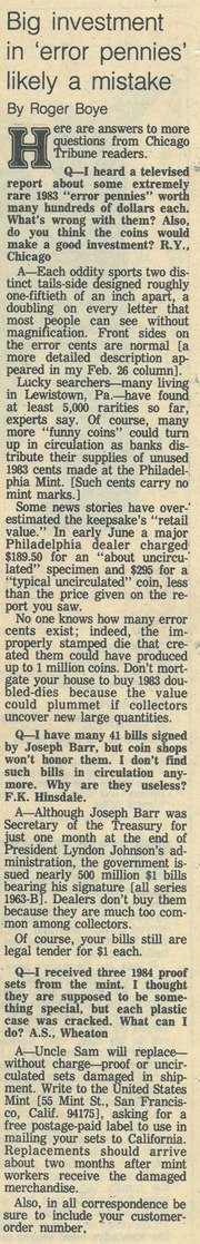 Chicago Tribune [1984-06-24]
