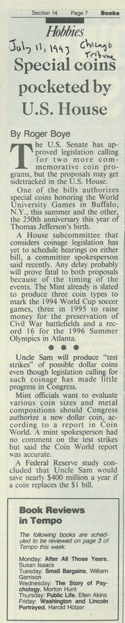 Chicago Tribune [1993-07-11]
