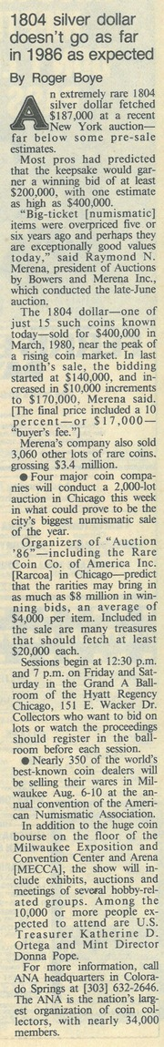 Chicago Tribune [1986-07-20]