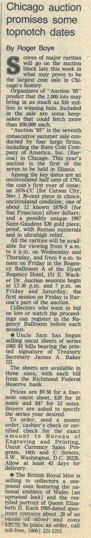 Chicago Tribune [1985-07-21]