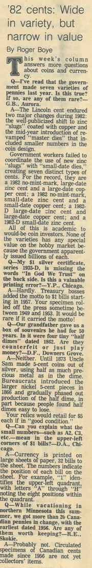 Chicago Tribune [1983-07-31]