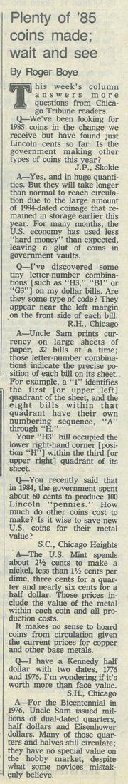 Chicago Tribune [1985-08-04]