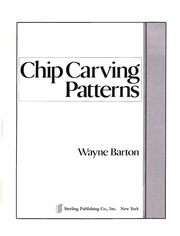 picture about Printable Chip Carving Patterns identified as Chip Carving Behavior : Wayne Barton : No cost Down load, Borrow