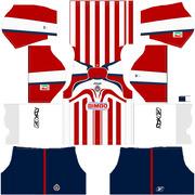 bd0bd6aba chivas 2006 campeon uniforme local rojo dreamleague soccer 2016 2017