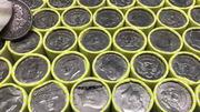 Christmas Half Dollar Coin Roll Hunt