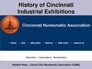 History of Cincinnati Industrial Exhibitions