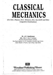 Classical Mechanics JC Upadhyay 2014edition 1 ( 1) : Free
