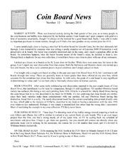 Coin Board News no. 13