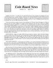 Coin Board News #14