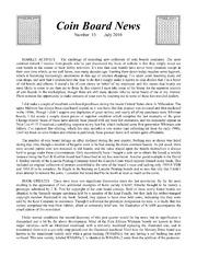 Coin Board News #15