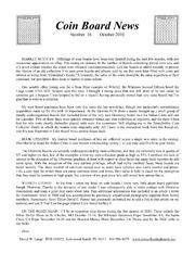 Coin Board News #16