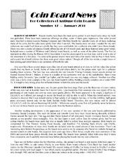 Coin Board News no. 17