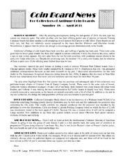 Coin Board News #18