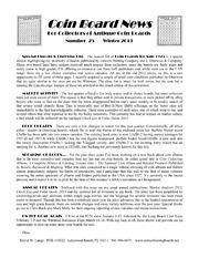 Coin Board News #25