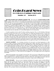 Coin Board News no. 26