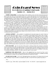 Coin Board News #30