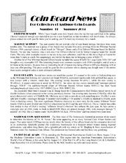 Coin Board News #31