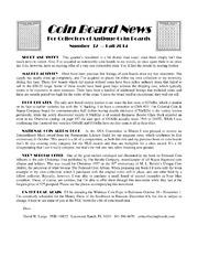 Coin Board News no. 32